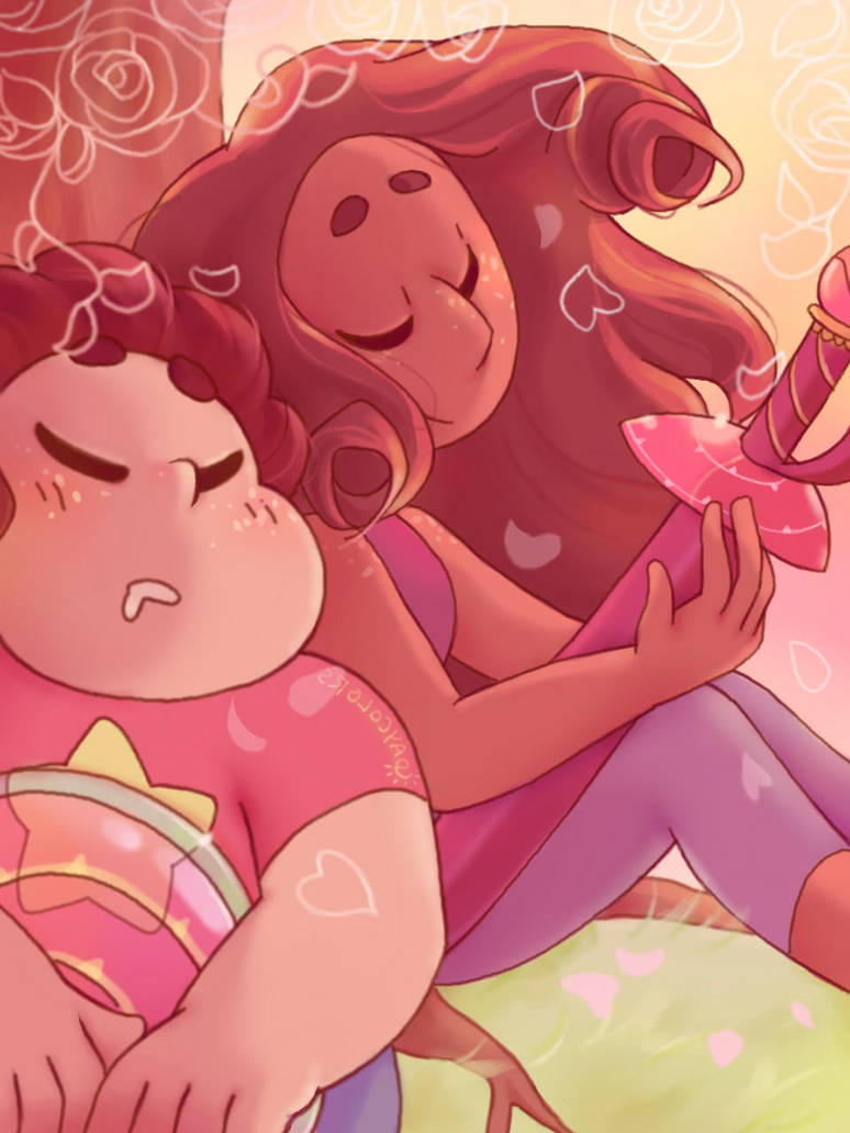 Second steven and connie thing I made for the tumblr tribute! I must admit I am terrible with dates so I didn't even start on them until I realized the deadline was the next day and I rushed,...