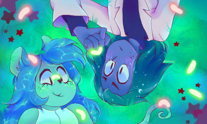 Glow worms by Daycolors
