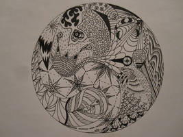Zentangle by Benergee