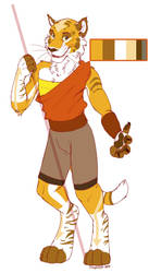 Airbender Tiger by SikiSpots