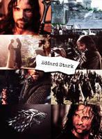 Eddard Stark by Franky-Malfoy