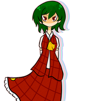 Yuuka by cursedtape