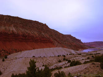 Flaming Gorge Wyoming by MSchmidtProductions