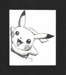Pikachu by marionerdbuskus