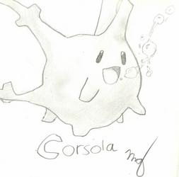 Corsola by marionerdbuskus