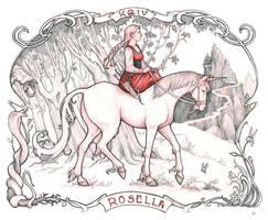 Kings Quest IV - Rosella by RanmaCMH
