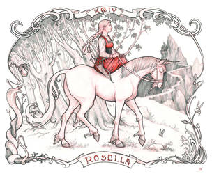 Kings Quest IV - Rosella by RanmaCMH