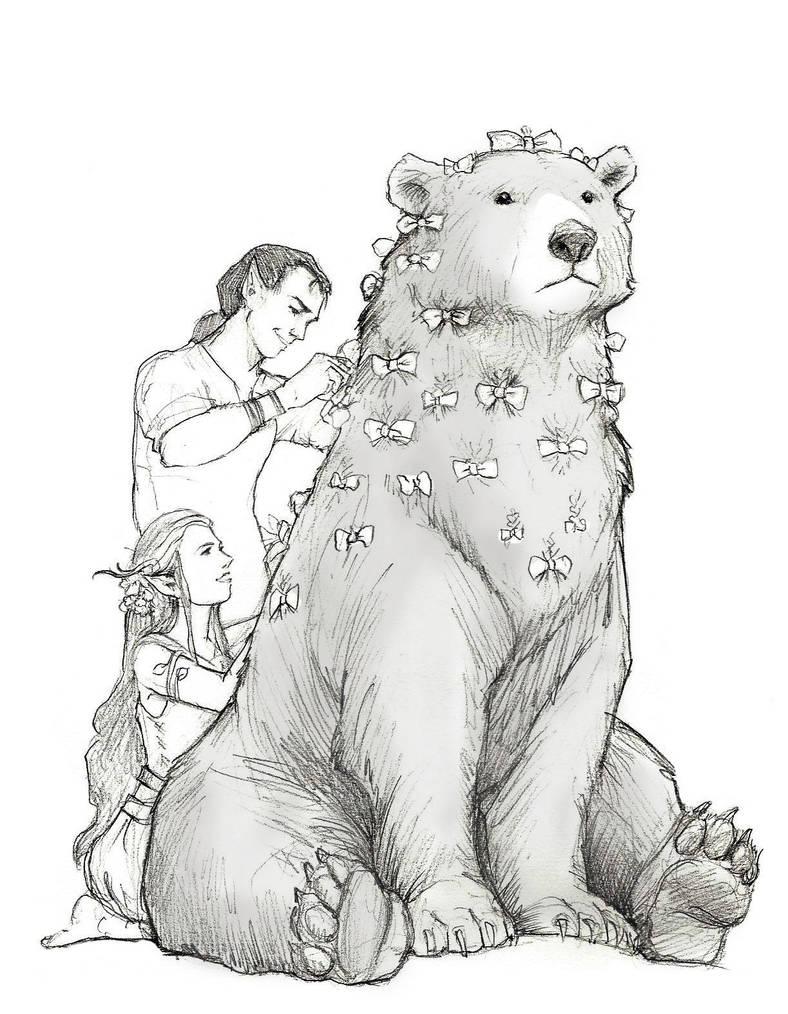 Pretty Bear by RanmaCMH