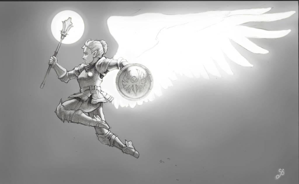 Wings of Sarenrae by RanmaCMH