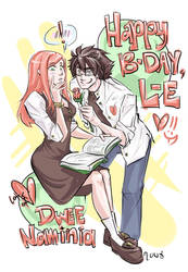 HBD LILLIAN--E by DoodleWEE
