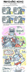 TF: Fanservice Meme - Ratchet by DoodleWEE