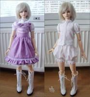 Purple lolita by Puffsan