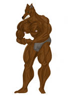 Umber: Most Muscular Pose by TheMuscleFire