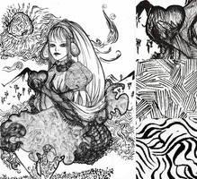 Gribouille en noir et blanc by Tori-Fan