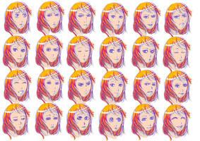 Eliya show her face by Tori-Fan