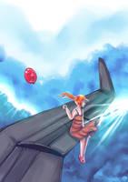 Red baloon by Tori-Fan
