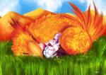 A flower in the desert. by Tori-Fan