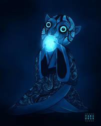 Lantern - The cat by Tori-Fan