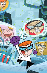 Dexter's Lab Trade Cover 1 by cretineb