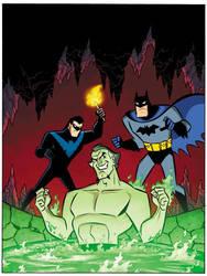 Batman You Choose The Lazarus Plan Cover by cretineb