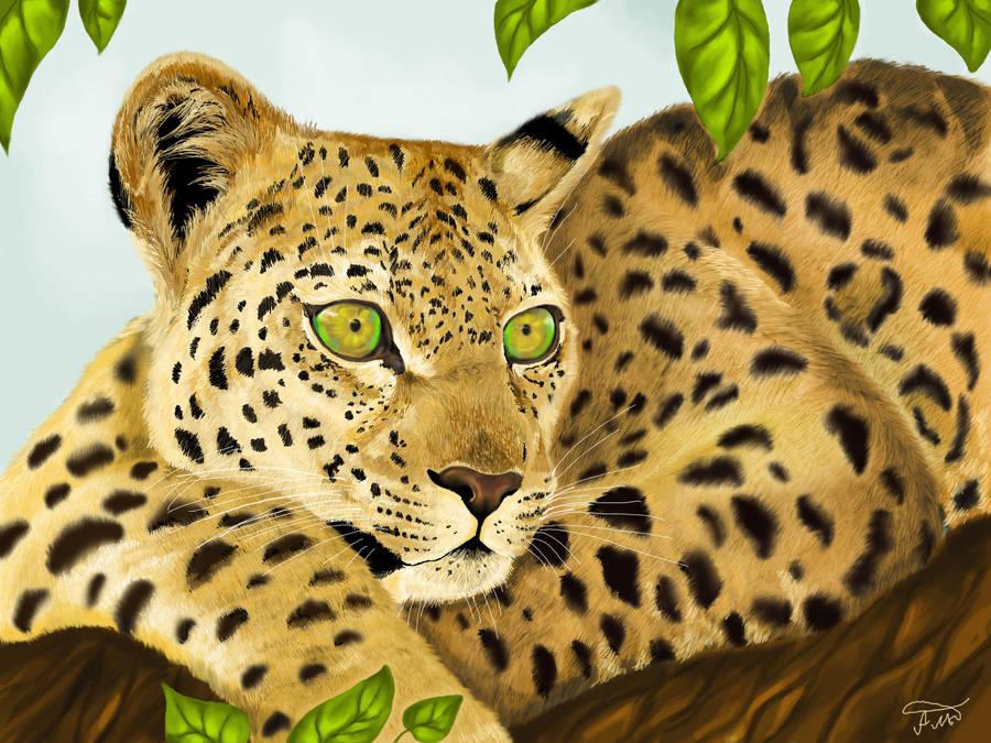 leopard2 by NekoKawaiiNya