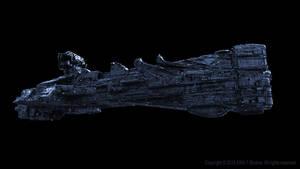 Spaceship Concept 3 by Vitaliy-Boyko