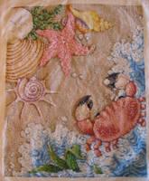 Seaside Cross-stitch by sswolfie