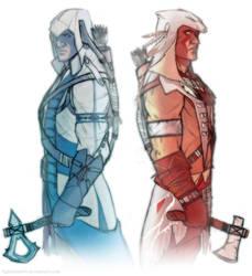 warriors by ufficiosulretro