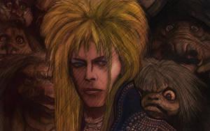 David Bowie Goblin King by WilkFenris