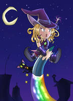Magical witch Muni-chan by Pepius