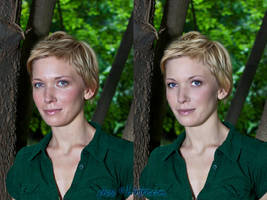 before, after - retouching 01 by Linire