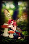 Autumn fairy by Linire