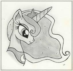 Pretty Princess Portraits: Luna by Knight-of-Bacon