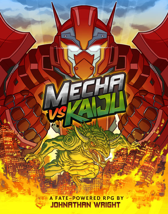 Cover+Logo by MechaVsKaiju