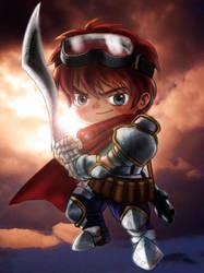 little warrior by JerryLei