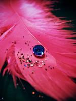 Blue Water drop by KatherineDavis