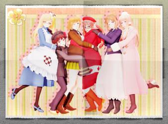 .:Allied Girls:. by xXChibi-SenpaiXx