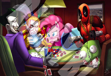 Shady Poker Game Commission by RickyBryantJr