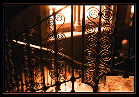 Midland Grand Stairs by aural