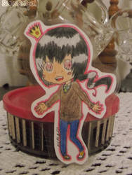 Paper Child Dante by SkullBooty