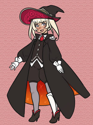 Witch OC - Alice Abrahaam by SkullBooty