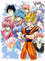 The Jump Stars Heroes.(UPDATED) by Penzoom