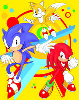 SONIC MANIA by Penzoom