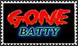 Gone Batty stamp (gift) by DangerHillTerror