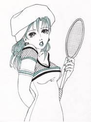 badminton by ggirl4ever