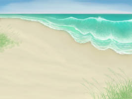 Beach Background by JNFerrigno