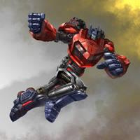 Optimus by scottbenefiel
