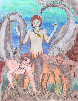 The Sea Warlock by ShikuroxKanno