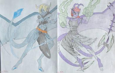 Dante and Viridian by ShikuroxKanno