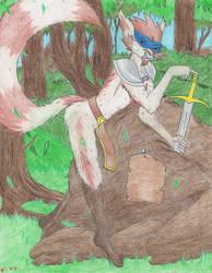 Care to Grab My Sword? by ShikuroxKanno